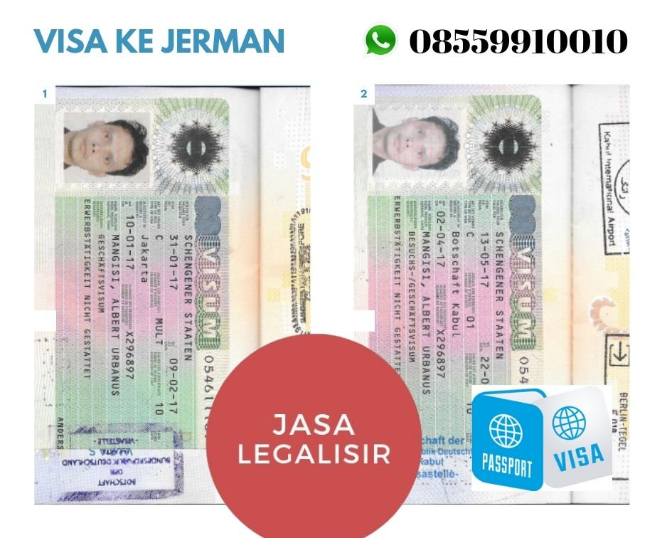 Jasa visa JERMAN | 08559910010