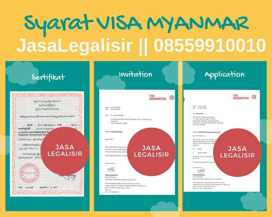 Jasa Visa Myanmar | 08559910010