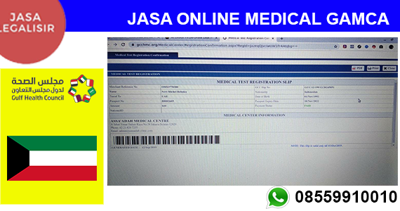 Jasa Apply Medical Check Up Kuwait || 08559910010