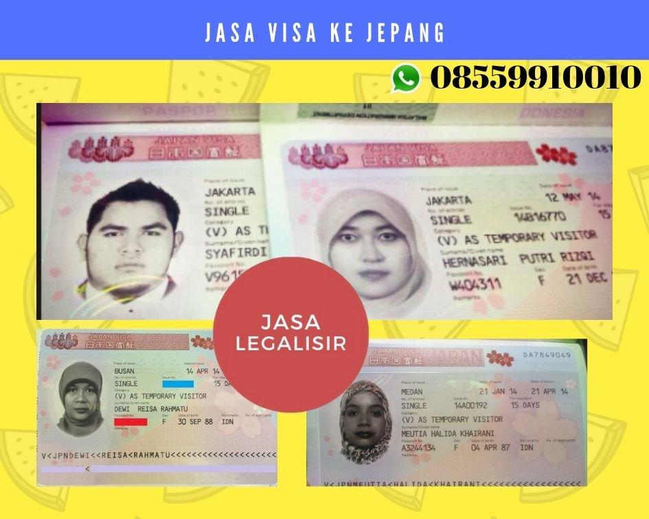 Jasa Pembuatan Visa ke Jepang || 08559910010