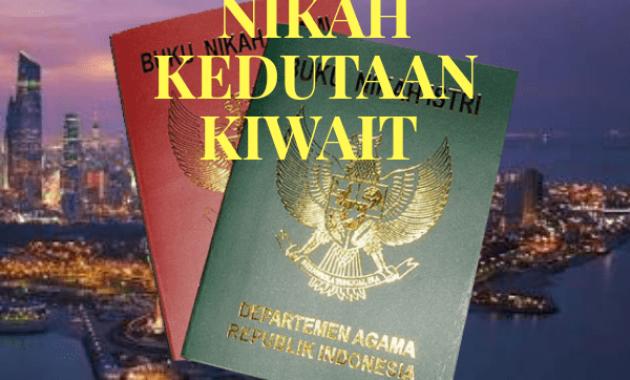 Jasa Legalisir Buku Nikah Di Kedutaan Kuwait