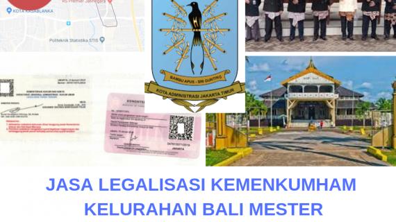 Jasa Legalisir KEMENKUMHAM di Bali Mester || 08559910010