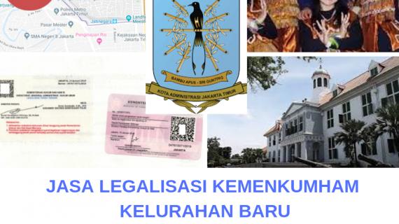 Jasa Legalisir KEMENKUMHAM di Baru || 08559910010