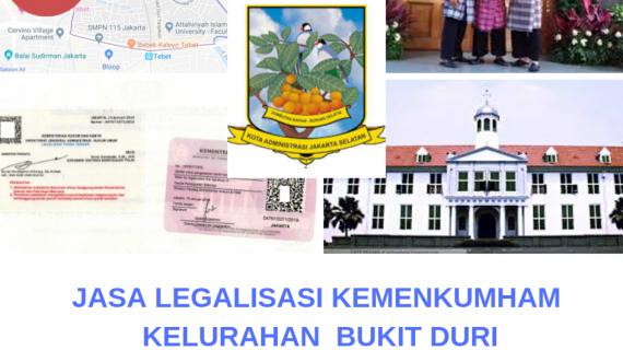 Jasa Legalisir KEMENKUMHAM di Bukit Duri    08559910010
