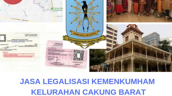 Jasa Legalisir KEMENKUMHAM di Cakung Barat || 08559910010