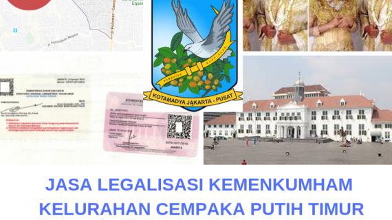 Jasa Legalisir KEMENKUMHAM di Cempaka Putih Timur || 08559910010