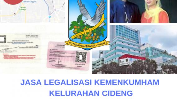Jasa Legalisir KEMENKUMHAM di Cideng || 08559910010