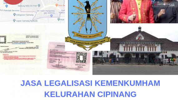 Jasa Legalisir KEMENKUMHAM di Cipinang || 08559910010