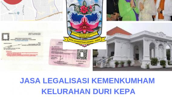 Jasa Legalisir KEMENKUMHAM di Duri Kepa || 08559910010