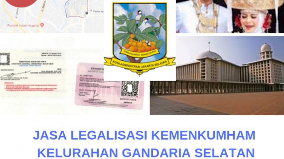 Jasa Legalisir KEMENKUMHAM di Gandaria selatan || 08559910010