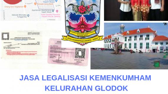 Jasa Legalisir KEMENKUMHAM di Glodok || 08559910010