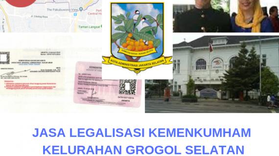 Jasa Legalisir KEMENKUMHAM di Grogol Selatan || 08559910010