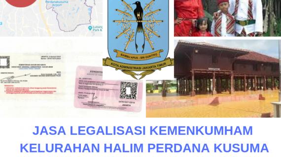 Jasa Legalisir KEMENKUMHAM di Halim Perdana Kusumah || 08559910010