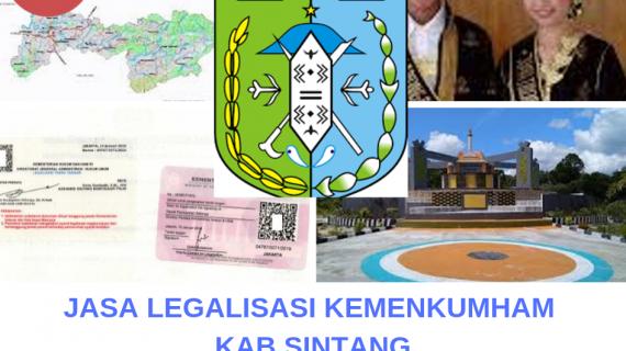Jasa Legalisir KEMENKUMHAM di Kabupaten Sintang || 08559910010