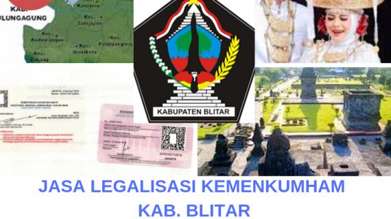 Jasa Legalisir KEMENKUMHAM di Kabupaten Blitar || 08559910010