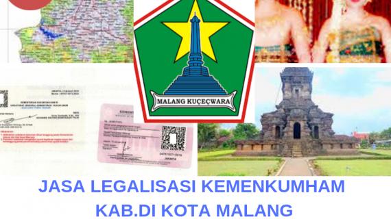 Jasa Legalisir KEMENKUMHAM di Kota Malang || 08559910010