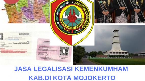 Jasa Legalisir KEMENKUMHAM di Kota Mojokerto || 08559910010