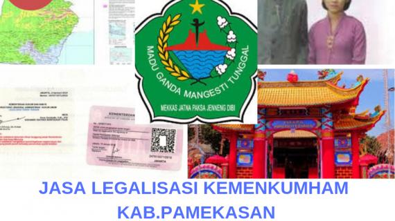 Jasa Legalisir KEMENKUMHAM di Kabupaten Pamekasan || 08559910010