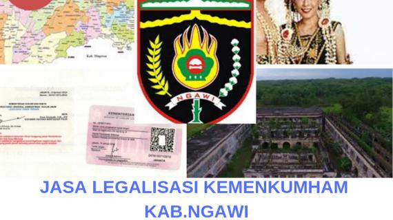 Jasa Legalisir KEMENKUMHAM di Kabupaten Ngawi || 08559910010