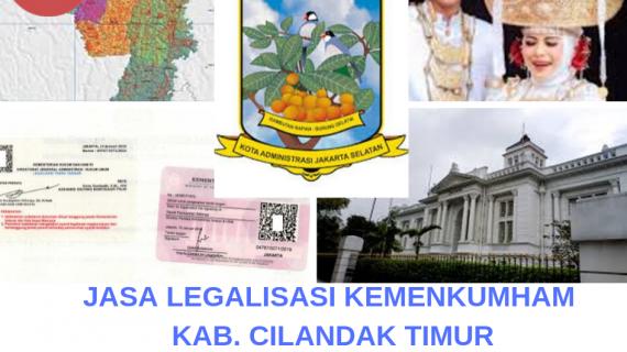 Jasa Legalisir KEMENKUMHAM di Cilandak Timur || 08559910010