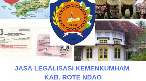 Jasa Legalisir KEMENKUMHAM di Kabupaten Rote Ndao    08559910010