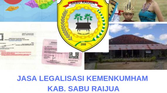 Jasa Legalisir KEMENKUMHAM di Kabupaten Sabu Raijua || 08559910010