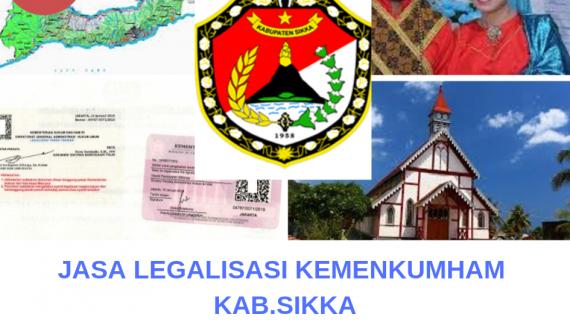 Jasa Legalisir KEMENKUMHAM di Kabupaten Sikka || 08559910010