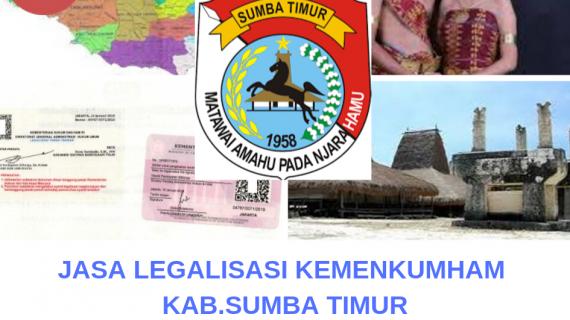 Jasa Legalisir KEMENKUMHAM di Kabupaten Sumba Timur || 08559910010