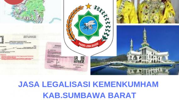 Jasa Legalisir KEMENKUMHAM di Kabupaten Sumbawa Barat    08559910010