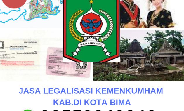 Jasa Legalisir Kemenkumham Di Kota Bima 08559910010 Jasa Legalisir Com
