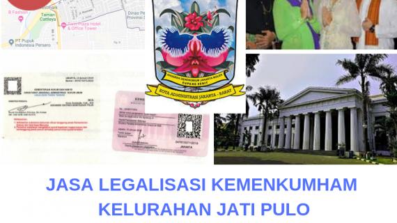 Jasa Legalisir KEMENKUMHAM di Jati Pulo    08559910010