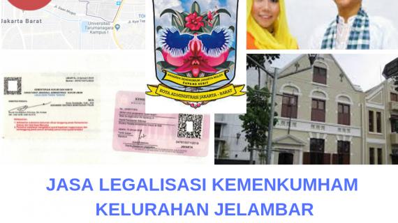 Jasa Legalisir KEMENKUMHAM di Jelambar || 08559910010