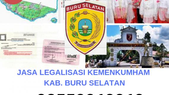 Jasa Legalisir KEMENKUMHAM di Kabupaten Buru Selatan || 08559910010