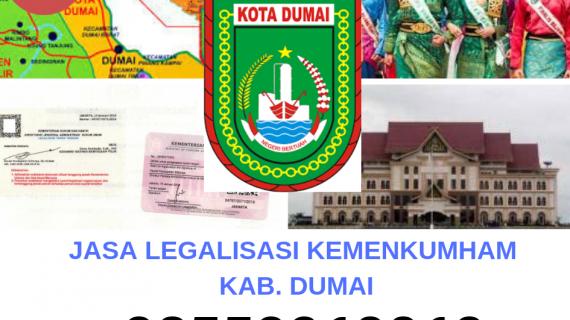 Jasa Legalisir KEMENKUMHAM di Kota Dumai || 08559910010
