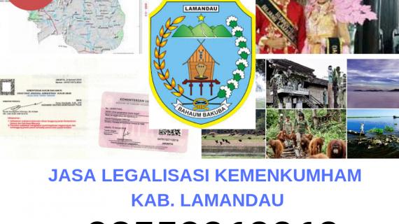 Jasa Legalisir KEMENKUMHAM di Kabupaten Lamandau || 08559910010