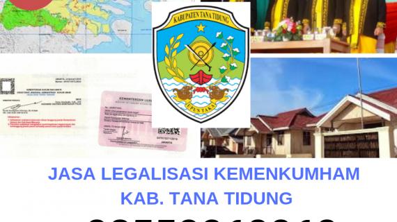 Jasa Legalisir KEMENKUMHAM di Kabupaten Tana Tidung || 08559910010