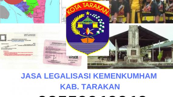 Jasa Legalisir KEMENKUMHAM di Kota Tarakan || 08559910010