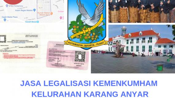 Jasa Legalisir KEMENKUMHAM di Karang Anyar || 08559910010
