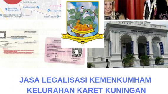 Jasa Legalisir KEMENKUMHAM di Karet Kuningan || 08559910010