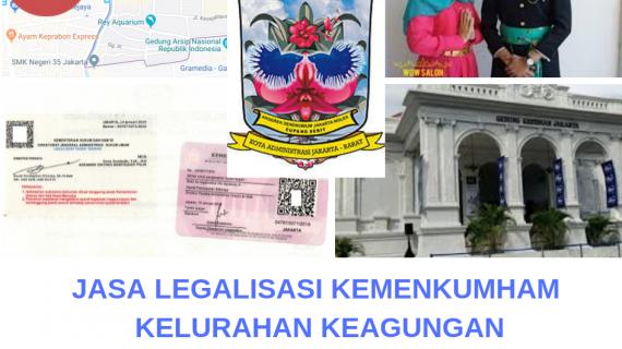 Jasa Legalisir KEMENKUMHAM di Keagungan || 08559910010