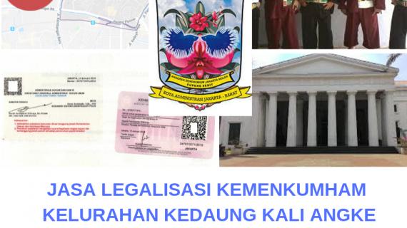 Jasa Legalisir KEMENKUMHAM di Kedaung Kali Angke || 08559910010