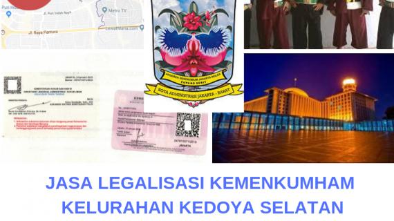 Jasa Legalisir KEMENKUMHAM di Kedoya Selatan    08559910010