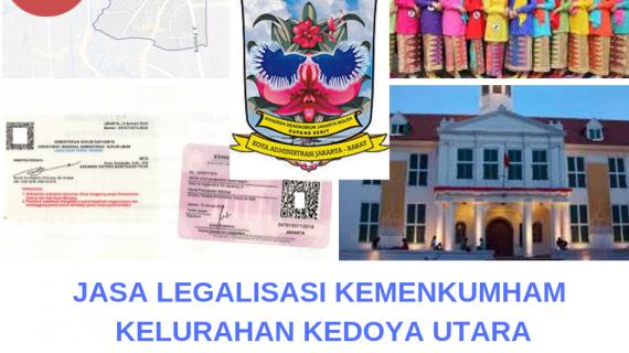 Jasa Legalisir KEMENKUMHAM di Kedoya Utara || 08559910010