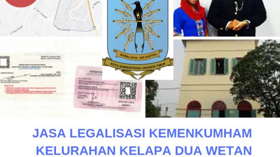 Jasa Legalisir KEMENKUMHAM di Kelapa Dua Wetan || 08559910010
