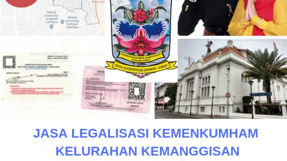 Jasa Legalisir KEMENKUMHAM di Kemanggisan    08559910010