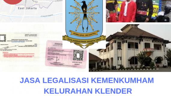 Jasa Legalisir KEMENKUMHAM di Klender || 08559910010