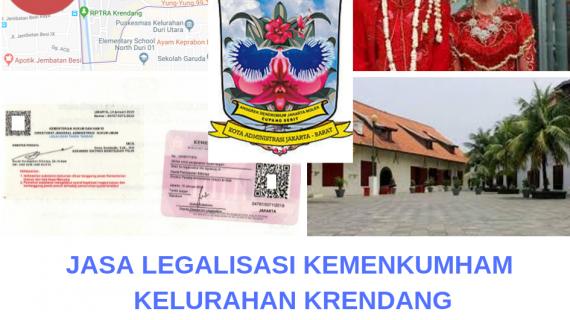 Jasa Legalisir KEMENKUMHAM di Krendang || 08559910010