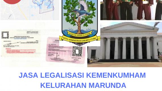 Jasa Legalisir KEMENKUMHAM di Marunda    08559910010