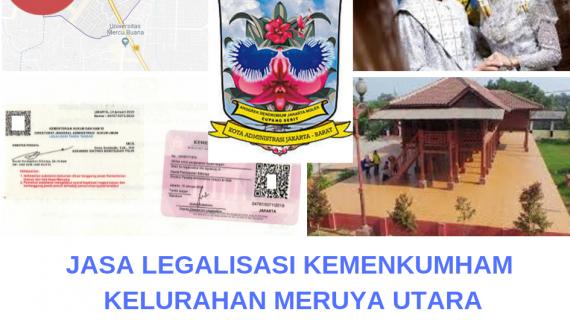 Jasa Legalisir KEMENKUMHAM di Meruya Utara || 08559910010