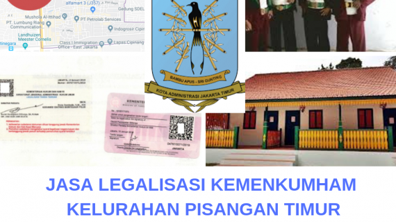 Jasa Legalisir KEMENKUMHAM di Pisangan Timur || 08559910010